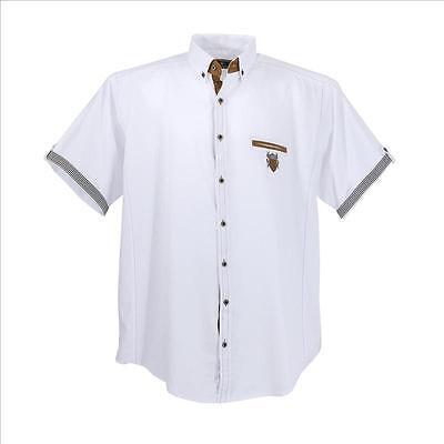 Puntuale Lavecchia Uomo Camicia A Maniche Corte Camicia Bianco Tg. 3xl 4xl 5xl 6xl 7xl #1128-mostra Il Titolo Originale Prezzo Di Vendita