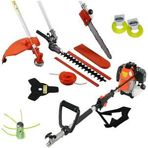 Multi tool petrol 5 in 1-short-Hedges, grass, disk and trimmer - 52cc