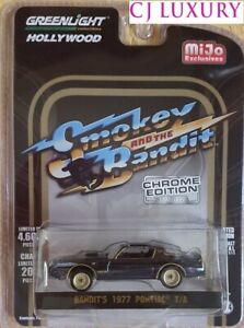 Greenlight-1-64-Smokey-and-The-Bandit-1977-Pontiac-Trans-AM-Chrome-Edition-51223