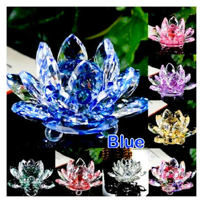 Large all colours crystal lotus flower ornament crystocraft home large all colours crystal lotus flower ornament crystocraft home decornewukfast mightylinksfo