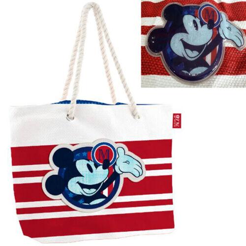 Disney Mickey-La Plage Sac-Sac à provisions-baigne cendres-Sac 49 cm