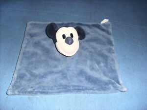 DEC3/ DOUDOU DISNEY MICKEY PLAT BLEU