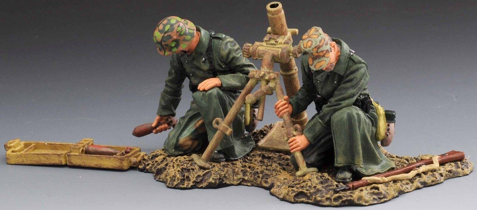 THOMAS GUNN WW2 GERMAN SS028B 8CM MORTAR TEAM SPRING 1944 MB