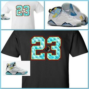 374cb5e9dde0 EXCLUSIVE TEE SHIRT TO MATCH NIKE AIR JORDAN 7 VII N7!