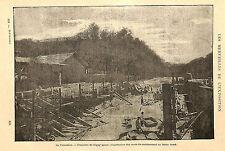 PARIS EXPOSITION UNIVERSELLE WORLD' FAIR TROCADERO TRAVAUX IMAGE 1900