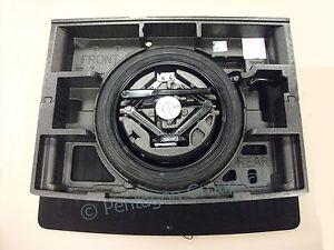 """Genuine Vauxhall Astra K Mk7 16"""" Space Saver Spare Wheel Full Kit Holder &Carpet"""