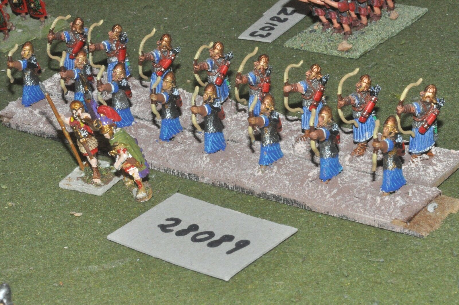25mm roman era   roman - archers 18 figures - inf (28089)