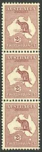 Kangaroos-CofA-Wmk-1935-2-1st-Die-vertical-strip-of-3-MUH-BW-40-2-h-j