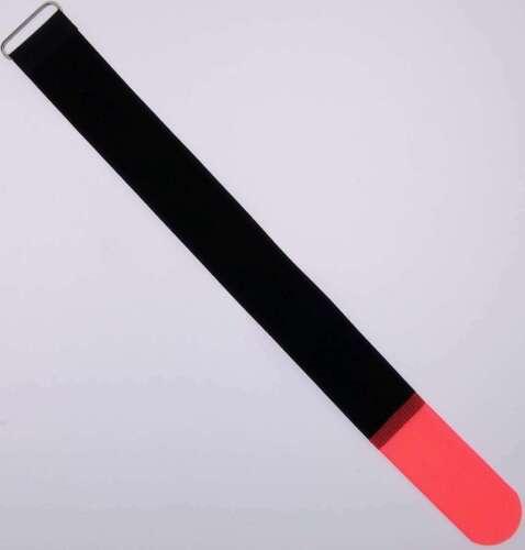 50x Klettband Kabelbinder 40 cm x 40mm neon rot Kabel Klettbänder Kabelklettband