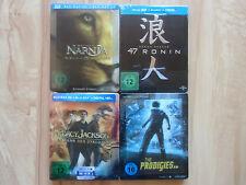 Bluray Steelbook 3d Narnia 3, 47 Ronin,The Prodigies, P.Jackson II Lesen!!!