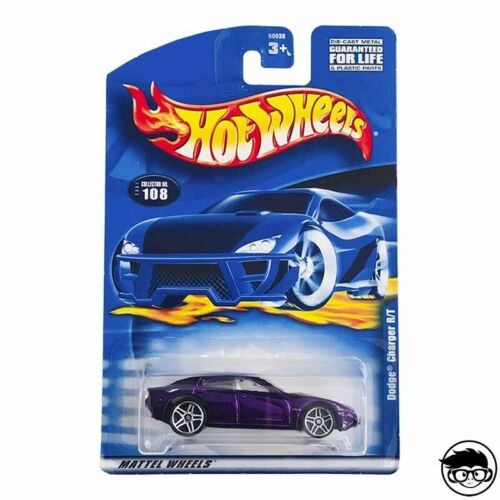 108 2001 long card Hot Wheels Dodge Charger R//T Collector no