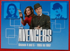THE-AVENGERS-Card-1-Header-1965-onwards-SERIES-TWO-Strictly-Ink-2005