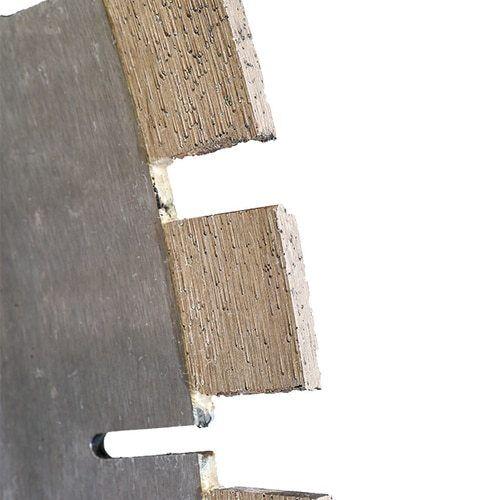 "14/"" Diamond Bridge Saw Blade Quartzite Taj Mahal Split Segment Made in Italy"