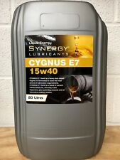 Synergy Cygnus 15W-40 SUPERIOR E5/E7 DIESEL ENGINE OIL x 20 litres