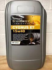 Synergy Cygnus 15W-40 SUPERIOR E5/E7 DIESEL ENGINE OIL x 20 litres