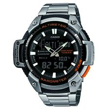 Casio SGW-450HD-1BER Mens Core Silver Altimeter and Barometer Combi Watch £110
