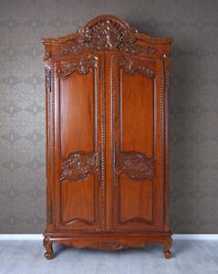 MOGANO Armadio cassettiera camera da letto antico Scaffale per ...