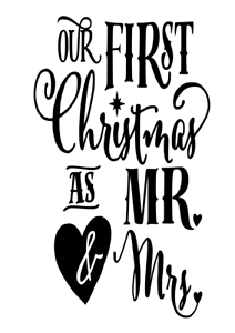 Christmas Vinyl Decals.Details About Our First Christmas Vinyl Decal Sticker For Wine Bottle Craft Glass