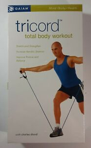 gaiam tricord total body workout  charles shand vhs new