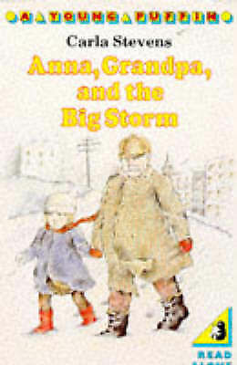 Stevens, Carla, Anna, Grandpa, And the Big Storm (Young Puffin Books), Very Good
