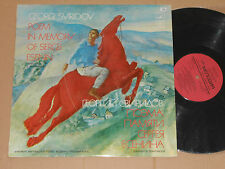 SVIRIDOV - The Poem In Memory Of Sergei Esenin Yurlov Acad. Russian... LP