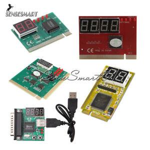 2-4-Chiffres-3-in1-PC-Analyzer-analyse-diagnostic-Carte-PCI-PCI-E-USB-carte-postale