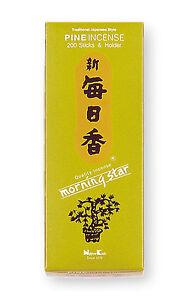 Nippon-Kodo-Morning-Star-Incienso-Japones-Pin-200-Varillas-Incienso