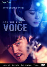 Voice Korean Drama (4DVDs) Excellent English & Quality!