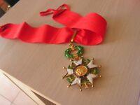 medaille  commandeur legion honneur