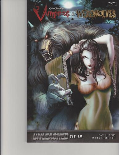 Vampires and Werewolves Trade Paperback TPB Unleashed GFT Zenescope