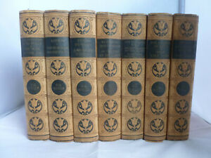 The-Works-of-H-G-Wells-7-Volumes-HB-History-of-Mr-Polly-The-Invisible-Man