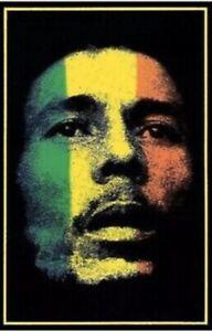 24X36 1979 BOB MARLEY BLACKLIGHT POSTER