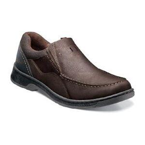Men Shoes Nunn Bush Brookston Brown Leather Suede Dynamic