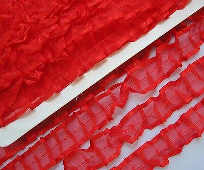 5 Meter Spitze Weiß  1,5 cm breit  elastisch Borte 300 nur 0,39€//m