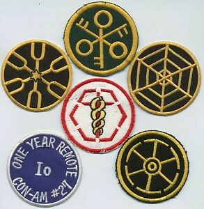 Outland-Movie-Patches-Set-of-6-Iron-on-Embroidered-Patches