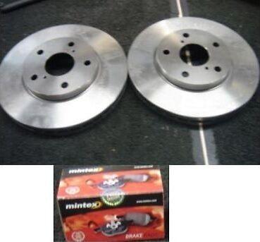 VAUXHALL ASTRA H SRI 150BHP 1.9CDTI FRONT MINTEX BRAKE DISCS 308MM /& MINTEX PADS