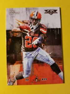 75f43f89d64 DUKE JOHNSON   RC ROOKIE  43 CLEVELAND BROWNS - MIAMI - 2015 TOPPS ...