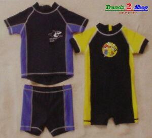 UV-Schutz-Kombi Shirt Hemd Hose Shorts Schwimmanzug C
