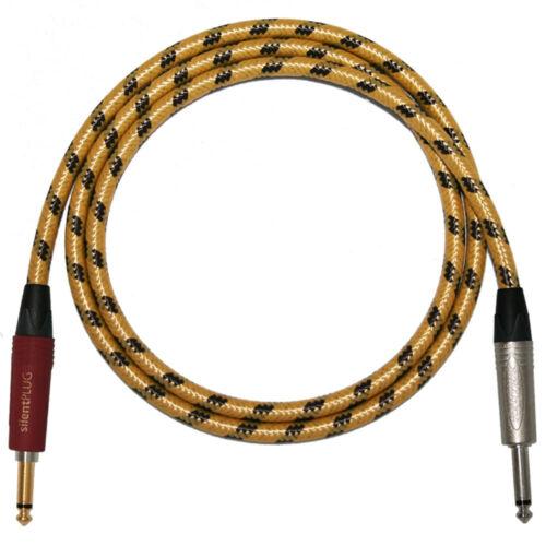 Custom Length Electric Guitar Leads* Neutrik SILENT Plugs Sommer Vintage Cables