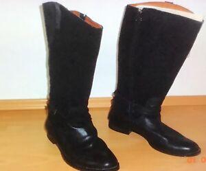 b6d8590c32bcb8 Das Bild wird geladen Gant-Damen-Stiefel-Gr-41-schwarz