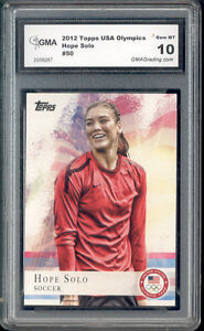 2012-Hope-Solo-Topps-Usa-Olympics-Soccer-Rookie-Gem-Mint-10-50