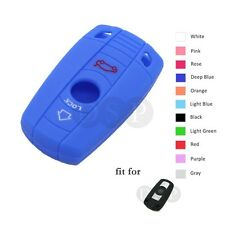 Silicone Cover fit for BMW 1 3 5 6 7 E X5 M3 Smart Remote Key Fob 3B Hollowed DB
