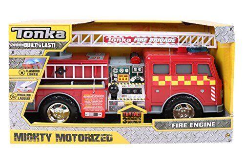 Tonka 07766 Mighty Motorized UK Fire Engine Toy