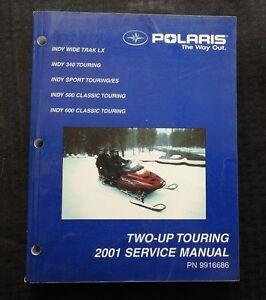 2001 polaris indy wide trak lx 340 500 600 sport classic tour rh ebay com Polaris Snowmobile Illustration 2001 polaris snowmobile service manual pdf