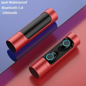 Bluetooth-V5-Headset-TWS-Wireless-Earphones-Mini-Earbuds-Stereo-Headphones-IPX7
