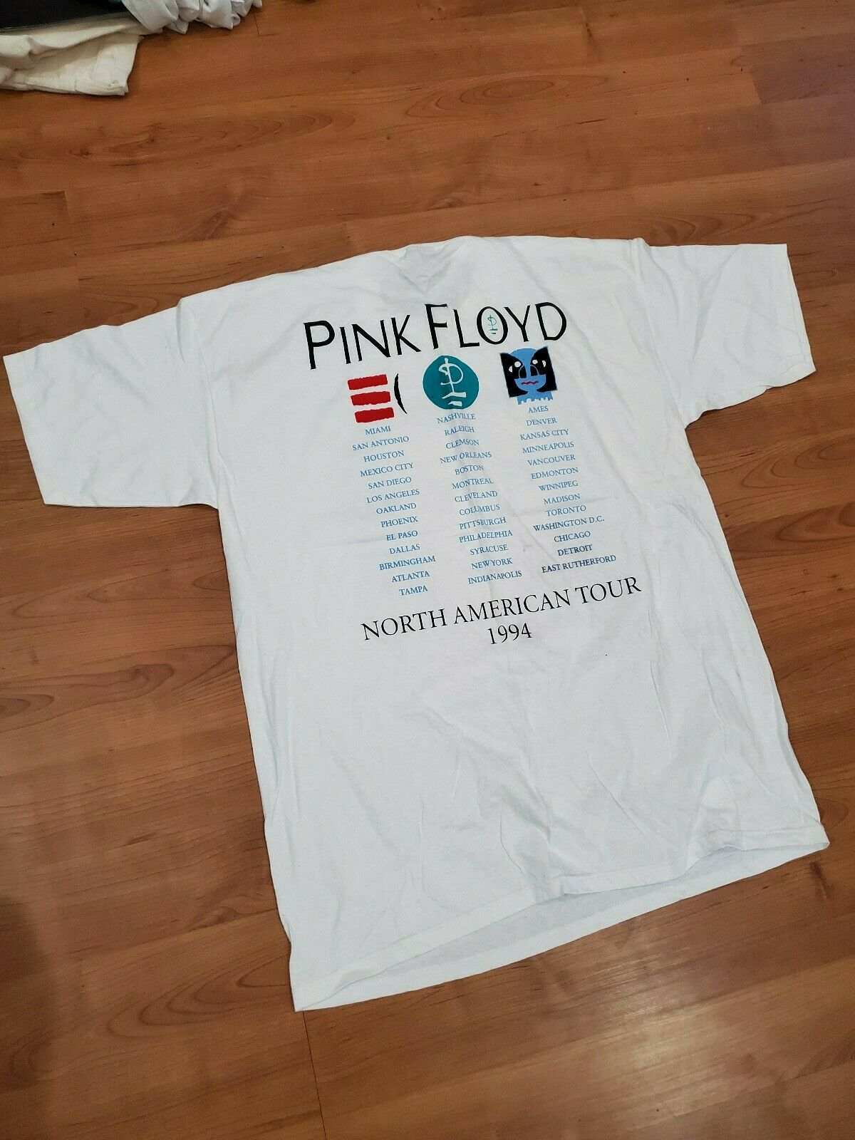 1994 Pink Floyd The Division Bell Vintage Origina… - image 4