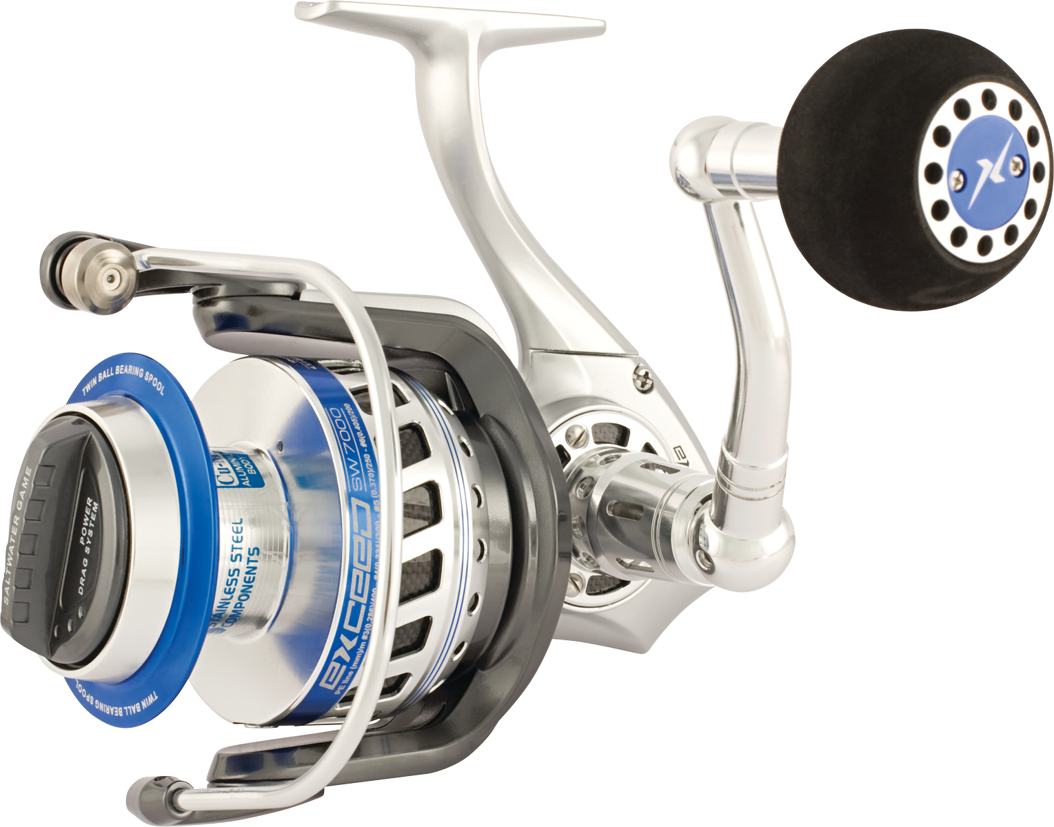 TRABUCCO EXCEED SW 7000 & 10000 Saltwater energia gioco reel