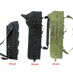 Tactical-Rifle-Scabbard-Rifle-Shotgun-Military-Case-Shoulder-Carry-Bag-Hunting