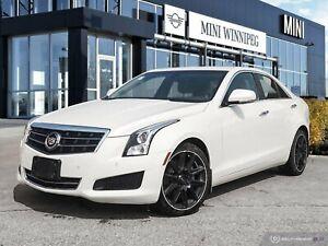 2014 Cadillac ATS Luxury AWD Diamond White! New Rear Brakes!