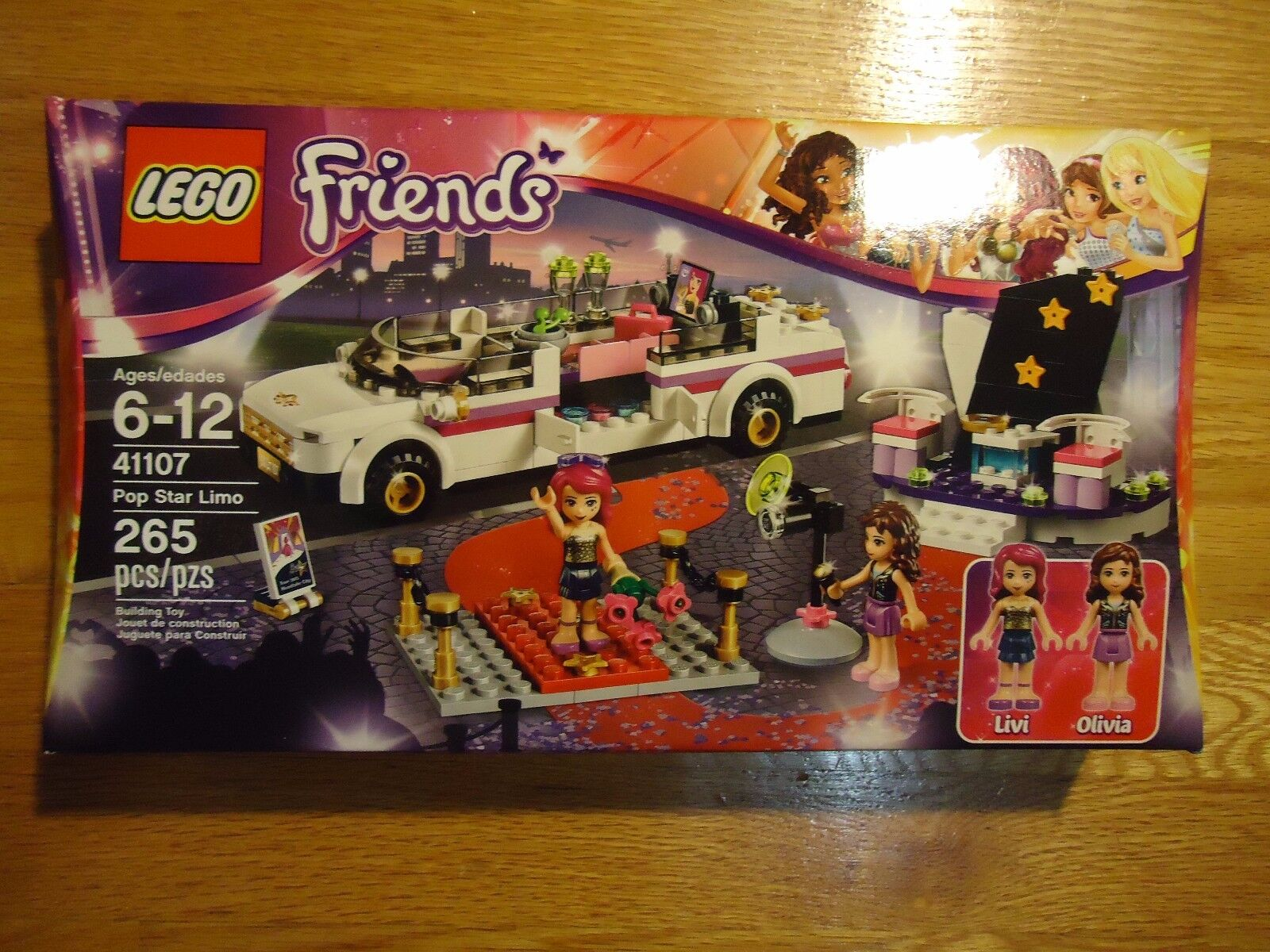 LEGO 41107 FRIENDS - POP STAR LIMO NIB retirosso